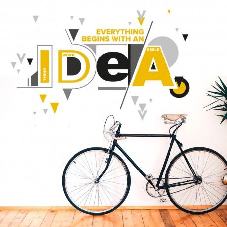 Todo empieza con una idea