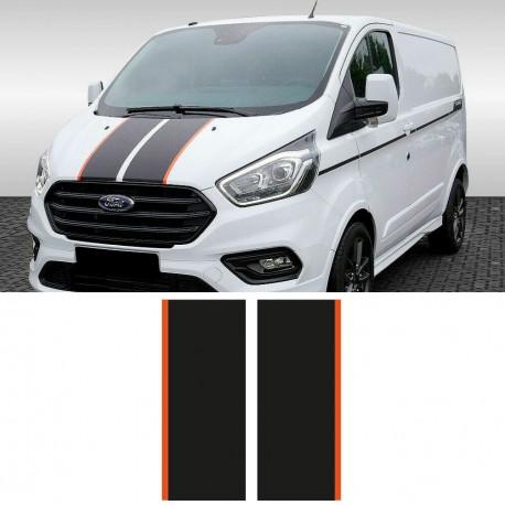 Frontstreifen für Ford Transit Custom Sport