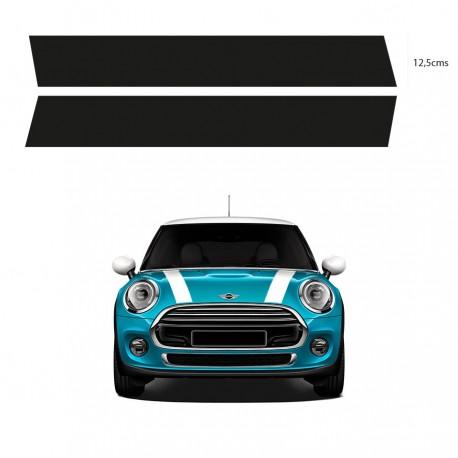 Mini Motorhaube Streifen Aufkleber