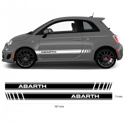 Fiat Abarth stripes
