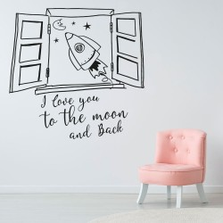 Fenêtre sur la lune