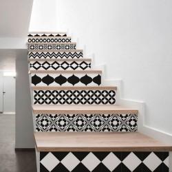 Stickers muraux escalier modèle Sintra