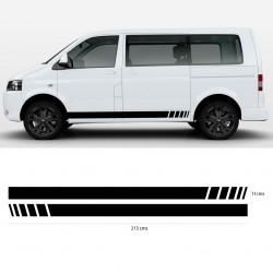 Franjas laterales para VW Transporter