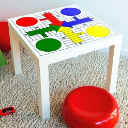 Parchis vinyl for ikea lack
