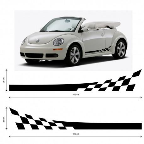 VW Beatle Seitenstreifen