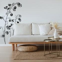 Joli sticker mural végétal