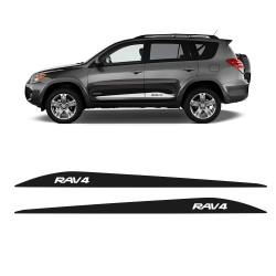 Bandes latérales décoratives Toyota RAV4