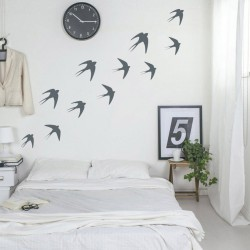 Swallows vinyl wall sticker