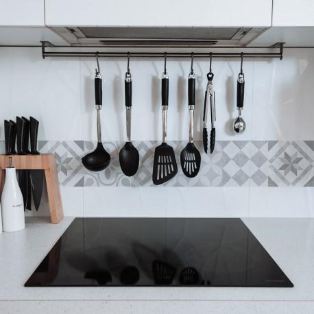 Cenefa hidráulica limpiable para cocinas