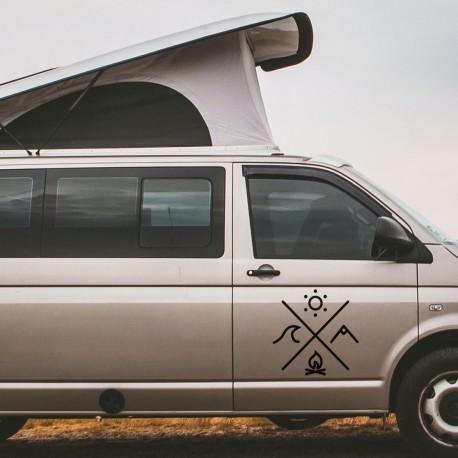 Camper Sticker for van