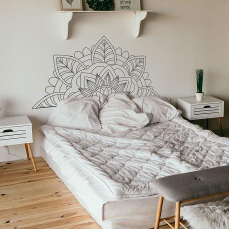 Vinyl Schlafzimmer Kopfteil für Wand Mandala