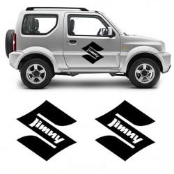 Bandes latérales pour Suzuki Jimny