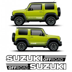 Suzukis off road Vinyl Kit
