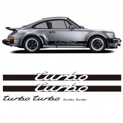 Pegatinas adhesivos réplica Porsche Turbo