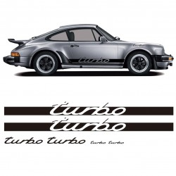 Porsche Turbo Replica Stickers