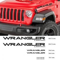 kit d'autocollants pour jeep wrangler