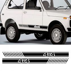 kit d'autocollants pour Lada