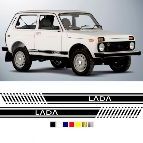 kit de adhesivos para Lada 4x4