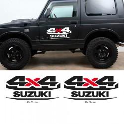 Suzuki 4x4 stickers