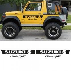 Side bands Suzuki Samurai Classic sport