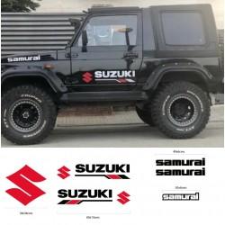 Suzuki Samurai Aufkleber Kit
