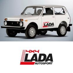kit d'autocollants pour Lada niva