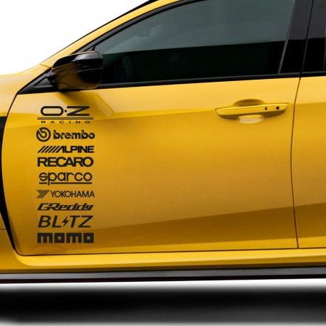 Adhesivos marcas racing