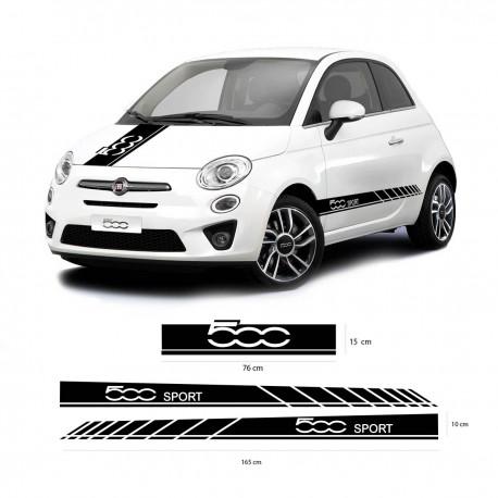 Bandas laterales Fiat 500 Sport