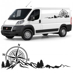 Vinilo clasico camper para furgonetas