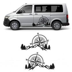 Camper vinyl for vans or 4x4