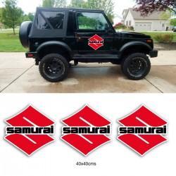 Pack de vinilos Suzuki Samurai