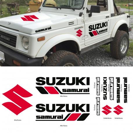 Set de adhesivos para Suzuki Samurai