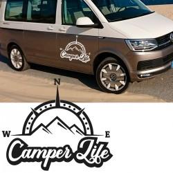 Camper life vinyl for vans or 4x4