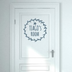 Vinyl customizable door
