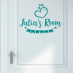 Customizable door name