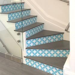 Vintage vinyl steps