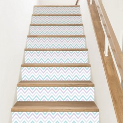 Nordic-style vinyl steps