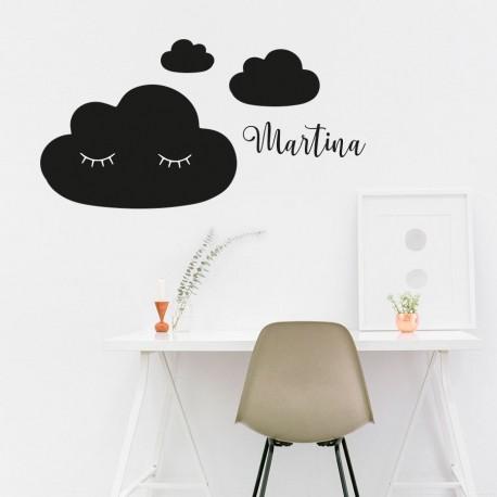 Tafelwolken mit benutzerdefiniertem Namen