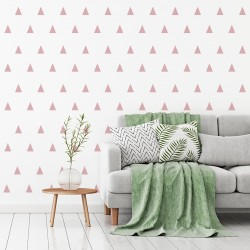 Nordic wall triangle texture