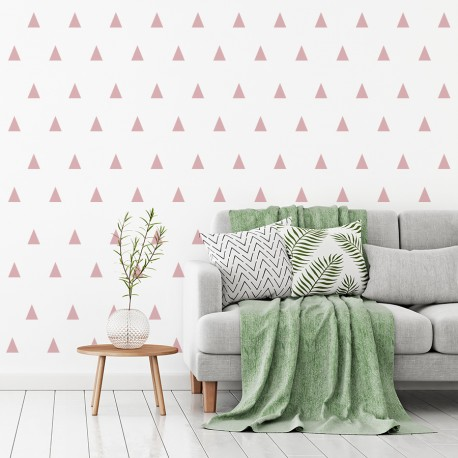 Textur der nordischen Dreiecke für Wand