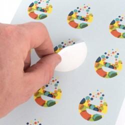 Pegatinas adhesivos personalizables