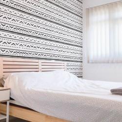 African Mudcloth Wall Printed Wall Wall Vinyl