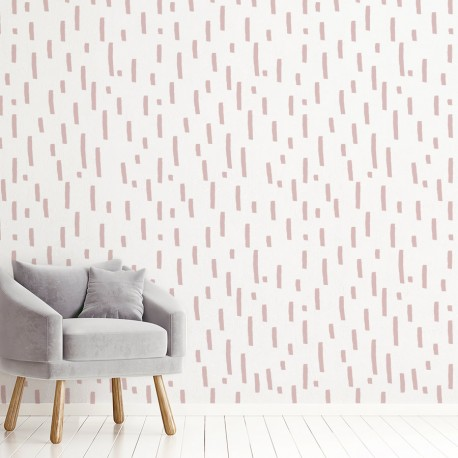 African Mudcloth Style Wallpaper