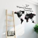 Cartes du monde et skyline